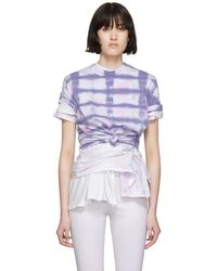 Collina Strada - Purple Triple Tie-t-shirt - Lyst