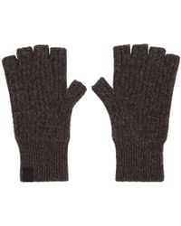 Rag & Bone - Brown Ace Cashmere Mitts - Lyst