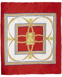 Burberry Foulard multicolore Archive Print Puffer