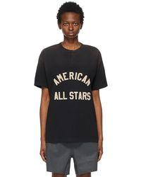 Fear Of God T-shirt henley noir 'all stars'