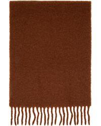 Séfr Brown Wool Scarf