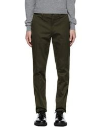 PS by Paul Smith - Green Slim Chinos - Lyst