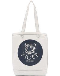 Tiger Of Sweden オフホワイト サークル トート