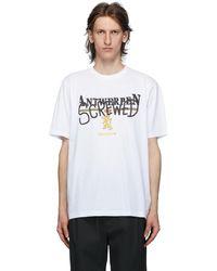Vetements - T-shirt blanc 'Antwerpen Screwed' - Lyst