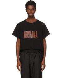 Yohji Yamamoto - Black Nirvana T-shirt - Lyst