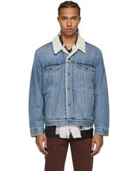 Levi's ブルー トラッカー ジャケット