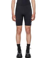 Balenciaga ブラック サイクリング ショーツ