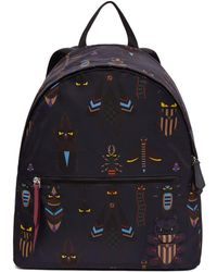 Fendi - Blue Super Bugs Backpack - Lyst