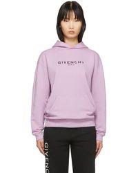 Givenchy - パープル ビンテージ フーディ - Lyst