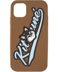 Maison Kitsuné ブラウン Varsity Fox Iphone 11 ケース