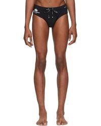 Dolce & Gabbana - Black Logo Swim Briefs - Lyst