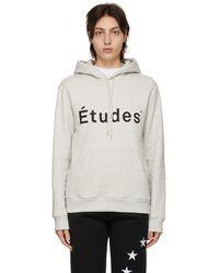 Etudes Studio グレー Klein フーディ