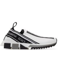 Dolce & Gabbana - ホワイト ソレント スニーカー - Lyst