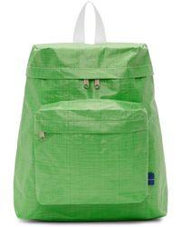 Comme des Garçons - Green Large Poly Backpack - Lyst