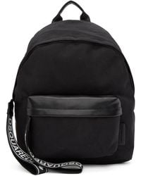 DSquared² - Leather Inserts And Nylon Backpack - Lyst