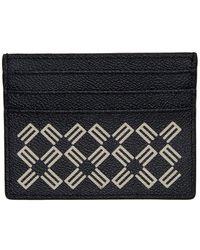 Etro - ネイビー ロゴ パターン カード ホルダー - Lyst
