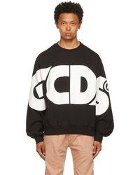 Gcds - Pull molletonné Macro noir à logo - Lyst