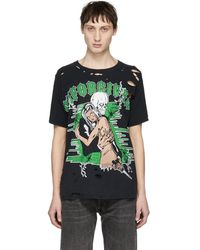 Warren Lotas Black Unforgiven Graphic T-shirt