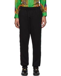 Moschino - Black Italy Side Band Lounge Pants - Lyst