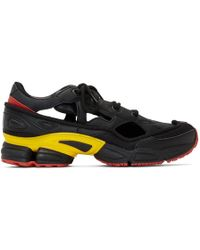the latest 4844a 9a44f Raf Simons - Black And Grey Adidas Originals Edition Rs Replicant Ozweego  Sneakers - Lyst