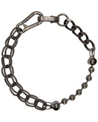 Heron Preston - Collier noir Multi Chain - Lyst