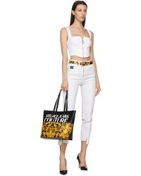 Versace Jeans Couture - ブラック Baroque ベルト - Lyst