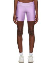 MISBHV Purple Reebok Edition Classic Bike Shorts