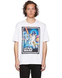 Etro - Star Wars Edition ホワイト ポスター T シャツ - Lyst