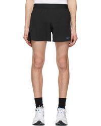 Reebok Black Techstyle Running Epic Shorts