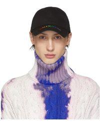 Pierced En Homme Coloris Casquette Pour Noire Barrett Cuir Neil EHeWbD9Y2I