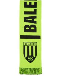 Balenciaga イエロー Soccer マフラー