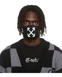 Off-White c/o Virgil Abloh Masque noir à flèches emblématiques