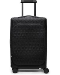 Ferragamo ブラック Gancini スーツケース