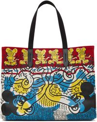 COACH Keith Haring エディション マルチカラー Mickey トート