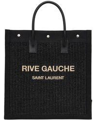 Saint Laurent Cabas noir Rive Gauche North/South Noe