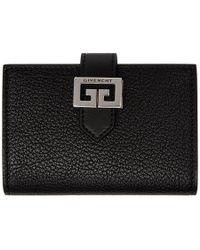 Givenchy - Black Gv3 Card Holder - Lyst