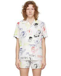Rassvet (PACCBET) White Graphic Print Short Sleeve Shirt
