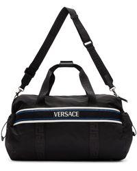 Versace - ブラック パラジウム ダッフル バッグ - Lyst