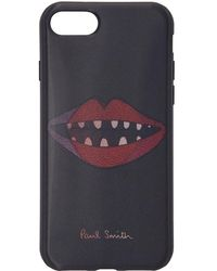 Paul Smith - Black Lips Lenticular Iphone 7 Case - Lyst