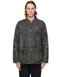 Neighborhood Black Denim Scc Jacket