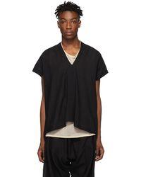 Jan Jan Van Essche Black Etamine Tunic T-shirt