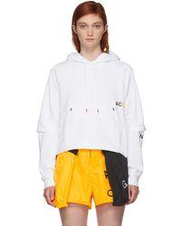 Nike - White Nrg Acg Hoodie - Lyst