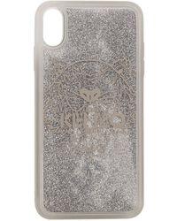KENZO Etui pour iPhone Xand argente Tiger - Métallisé