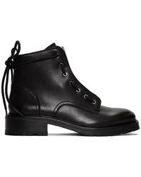 Rag & Bone Cannon Front-zip Ankle Boots - Black
