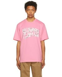 BBCICECREAM - ピンク & ホワイト 迷彩 Arch ロゴ T シャツ - Lyst