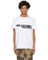Schnayderman's ホワイト Our Freedom T シャツ
