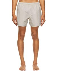 Our Legacy - Taupe Drape Tech Shorts - Lyst