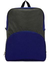 Comme des Garçons - Green & Blue Bicolor Nylon Backpack - Lyst