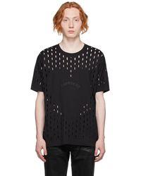 Givenchy - ブラック Gothic ロゴ T シャツ - Lyst