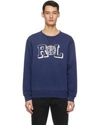 Polo Ralph Lauren - ブルー スウェットシャツ - Lyst